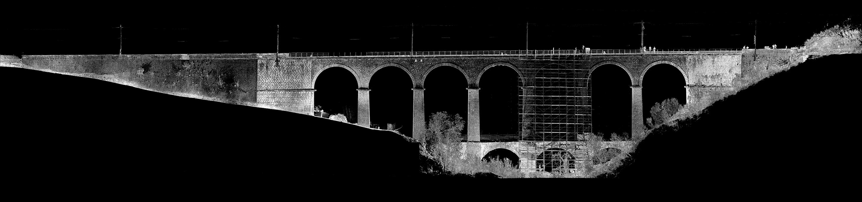 Rilievo Laser Scanner Viadotto Ferroviario